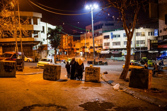 New city checkpoint. Hebron, 2013.