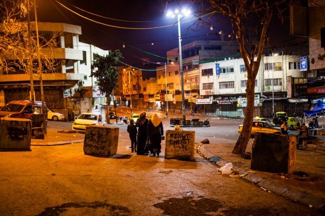 New city checkpoint. Hebron, 2013.