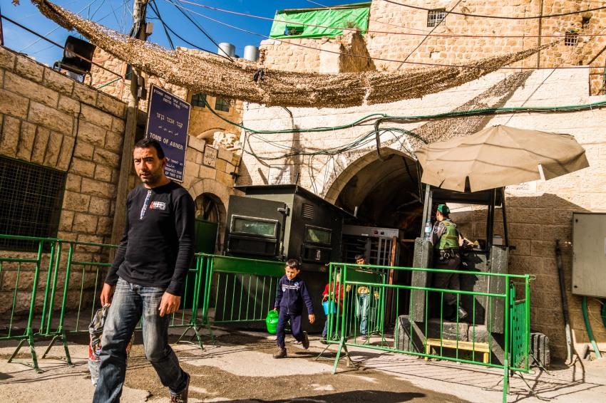 Checkpoint. Hebron, 2013.