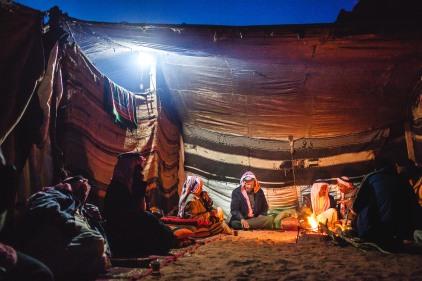 Bedouin tent. Wadi Rum, 2013.