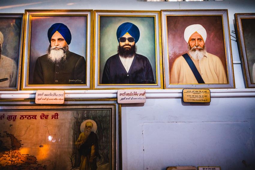 Guru at Harmandir Sahib. Amritsar, 2013.