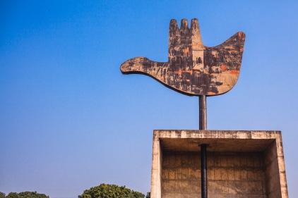 Open Hand Monument. Chandigarh, 2013.