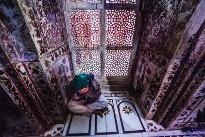 Tomb of Salim Chishti. Fatehpur Sikri, India, 2013.