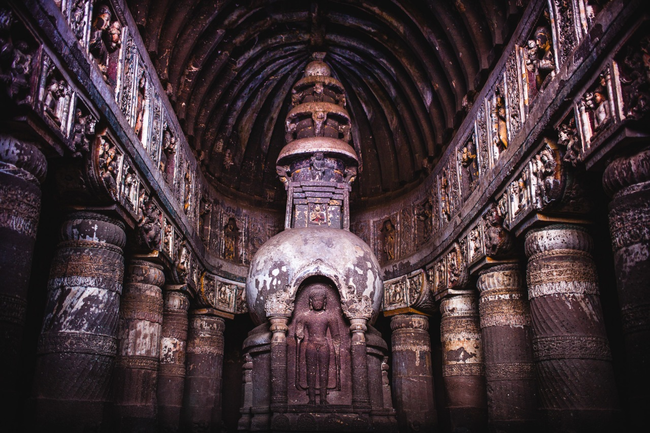 If you want to go there right now, nothing less easy: https://goo.gl/maps/7Ac8umNUFDJ2 Cave 19. Ajanta Caves. Maharashtra, India, 2014.