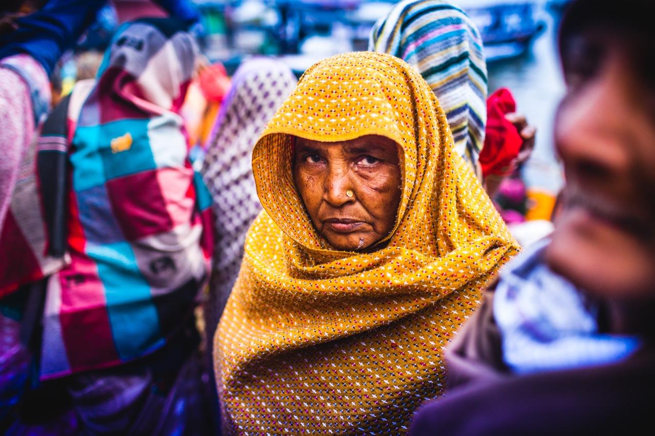 Ganges Attitude. Varanasi, Uttar Pradesh, India, 2014.