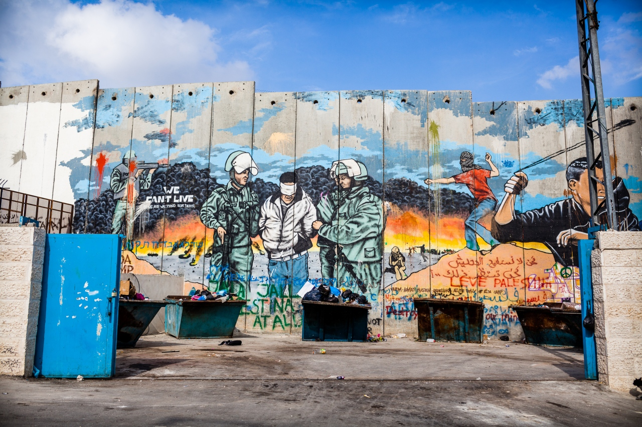More tags on the Segregation Wall. Bethlehem, Palestine, 2014.